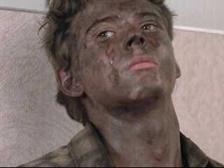 how did Ponyboy get burned?
