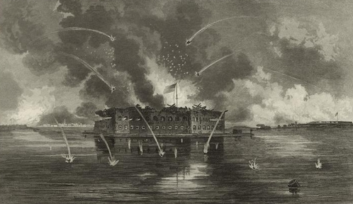 FAMOUS WARS: Which bloodless battle signaled the start of the American Civil War?
