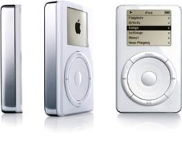 In what year did Apple introduce the ipod?