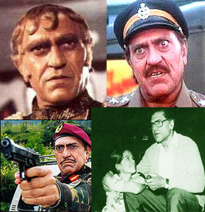 Amrish Puri died of a brain hemorrhage at the age of 72 in the year...