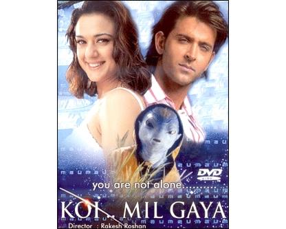 In what year did'Koi mil gaya' win the Filmfare award for best picture?