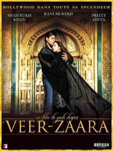 What year did 'Veer Zaara' win the Filmfare award for best picture?