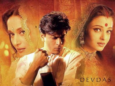 What year did 'Devdas' win the Filmfare award for best picture?