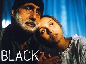 What year did 'Black' win the Filmfare award for best picture?