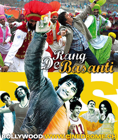 In what year did 'rang de basanti' win the filmfare award for best picture?