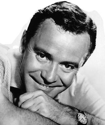 Comedian actor Jack Lemmon has what word written simply on his gravestone?