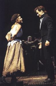 What did Marius offer Eponine in return for finding Cosette for him?