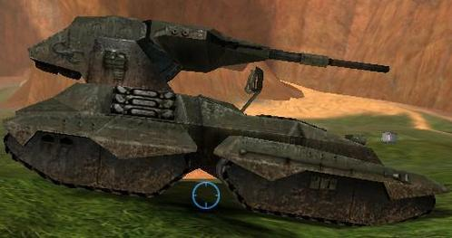 What Easter egg is visible on the nge tank in Halo: Combat Evolved?