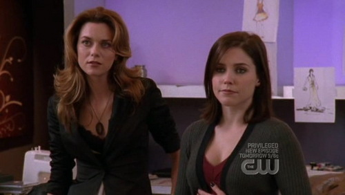 Peyton: You're a good mom. Brooke: No boys in her room except for the one in her bed. Julian: You're a ____ mom.