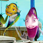 ANIMATION DOMINATION: Who plays Will Smith's love interest in the film 'Shark Tale'?