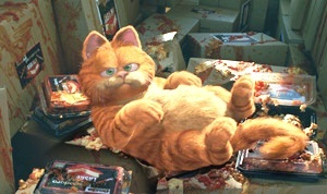 ANIMATION DOMINATION: Which Oscar-nominated actor provides the voice for lasanga-loving Garfield in the film 'Garfield' and its sequel?