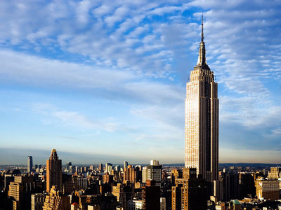 If you were to walk up all 1,860 steps of the Empire State Building, how many floors would you have walked up?