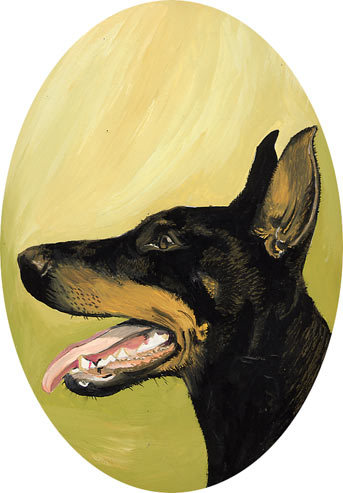 DOG PORTRAITS - This is a portrait of which breed of dog?