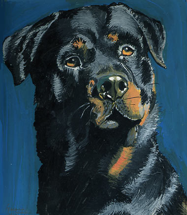 DOG PORTRAITS - This is a portrait of which dog breed?