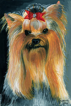 DOG PORTRAITS - Which breed of 테리어 is this a portrait of?