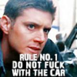 "In ""Wendigo"" what did Dean use to Create a Trail ?"