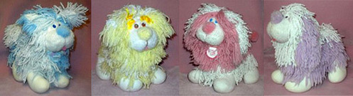 I had a pink one of these when i was a kid what are these shaggy toys called?