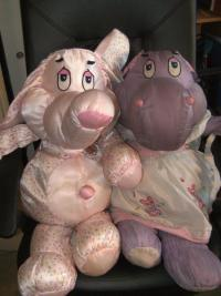 This two guys are part of a rare plush toy collection called?