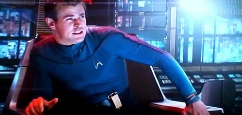 George Kirk is the captain of what spaceship?