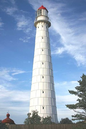 What is the name of this Western Estonia lighthouse?