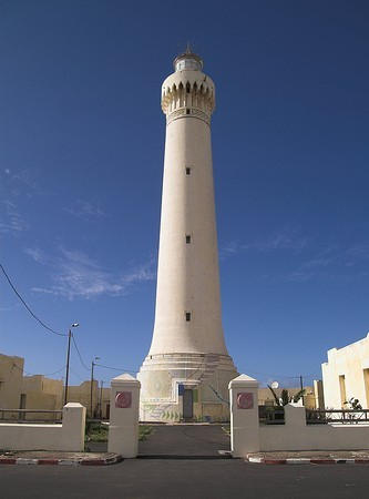 What is the name of this Moroccan lighthouse?