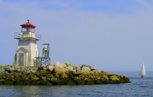 What is the name of this Nova Scotia lighthouse?