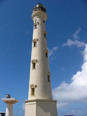 What is this name of the Aruba lighthouse?