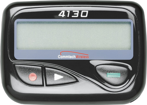 What make is JD's pager (as seen in My Changing Ways)?