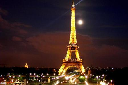 The Eiffel Tower was built between ____ and ____ ?