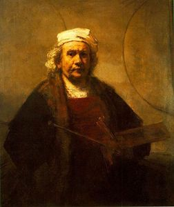 Which of these paintings is by Dutch artist Rembrandt?