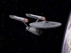 Which Federation star ship is manned completely by Vulcans?