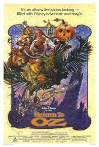 In which year was the film Return to Oz released?