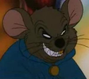 What animated villian mad it difficult for all mice to live in American Tale?