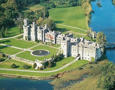 What is the name of this Irish castle?