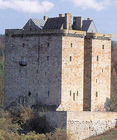 What is the name of this Scottish castle?