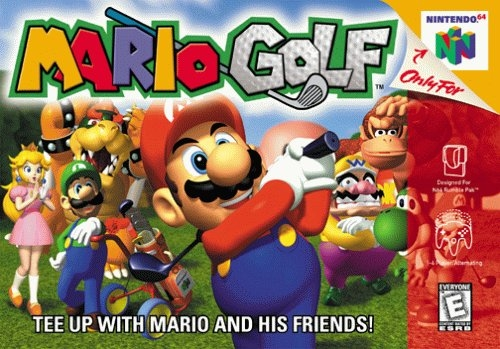 "Is Yoshi a playable character in ""Mario Golf 64?"""