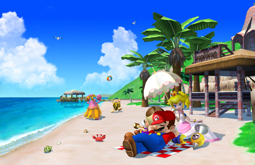 "Which of these is NOT one of Yoshi's moves in ""Super Mario Sunshine""?"
