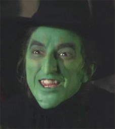 Dorothy killed the wicked witch of the east,do you know the colour of her stockings ?