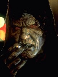 This evil villian deals in people weakness and dreams what movie is he in?