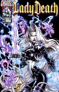 Lady Death Made Her First Apperance in which comic?