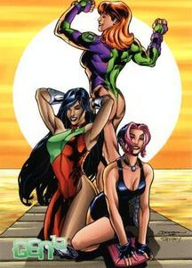 True Or False: The Girls Of Gen 13 Recieved thier Powers From Government Experiments?