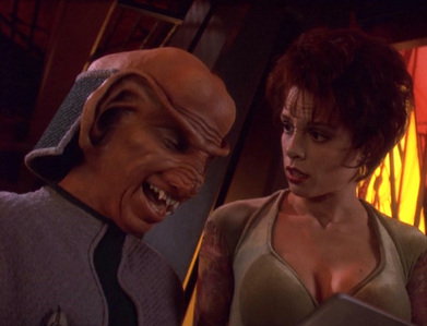 Which ngôi sao Trek:DS9's episode is this picture from?