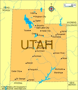 What is the state blume of Utah?
