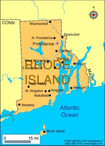 What is the state flower of Rhode Island?