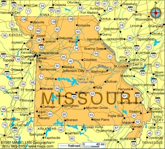 What is the state bunga of Missouri?