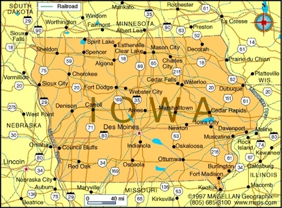 What is the state hoa of Iowa?