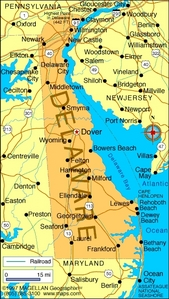 What is the state hoa of Delaware?