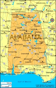 What is the state flor of Alabama?