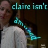 What is Claire's occupation?