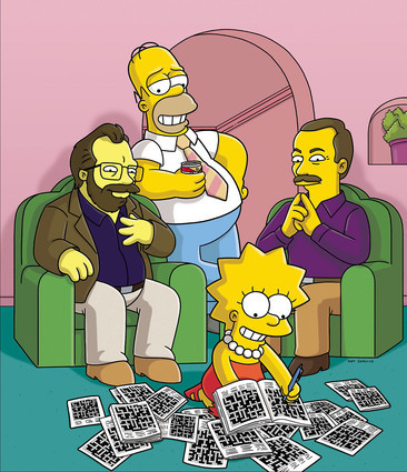 "In ""Homer and Lisa Exchange Cross Words,"" what does Lisa change her name to?"